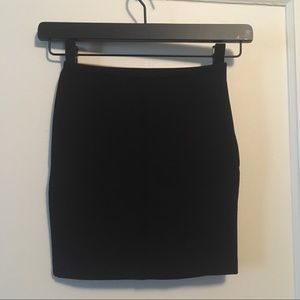 American Apparel Mini Bodycon Skirt
